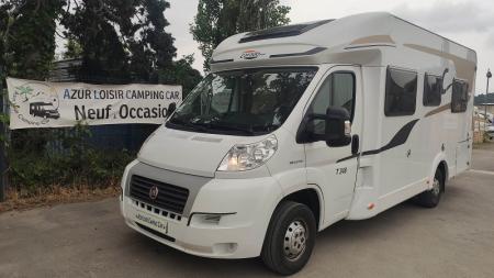 camping car CARADO T 348 modele 2014